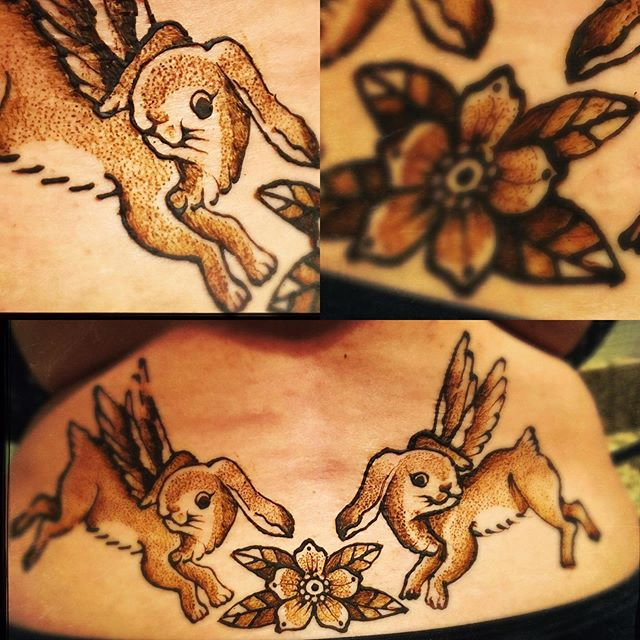 angel bunnies henna