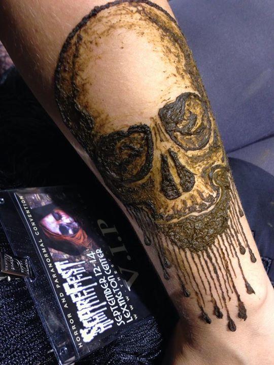 Henna at Scarefest