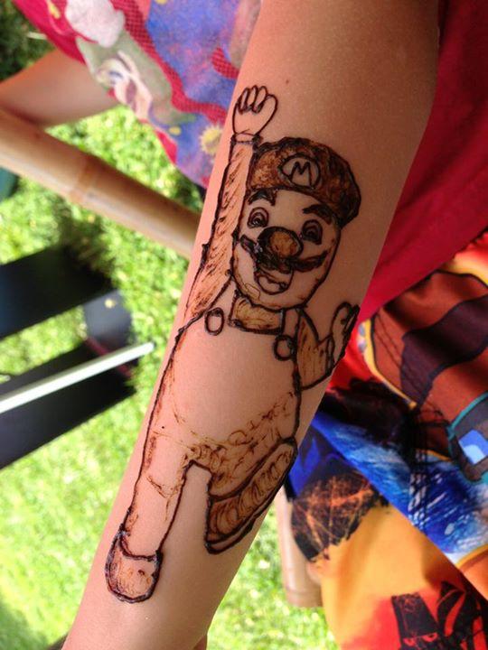 Mario henna