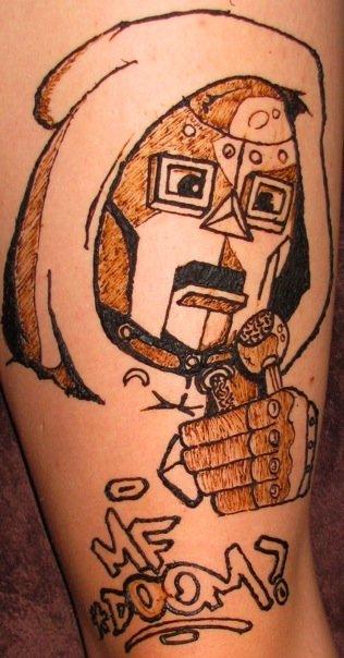 MF Doom henna