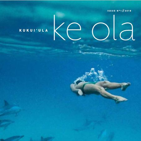 Ke Ola — Letter from the Publisher