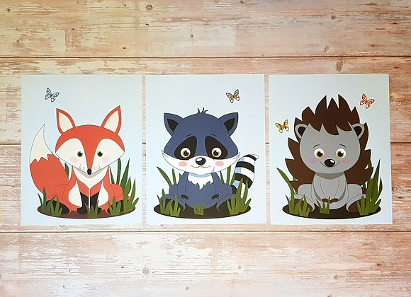 סט חיות יער