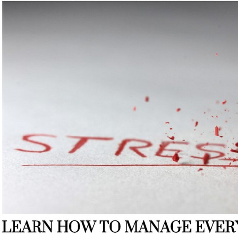 Learn How to Manage Everyday Stress