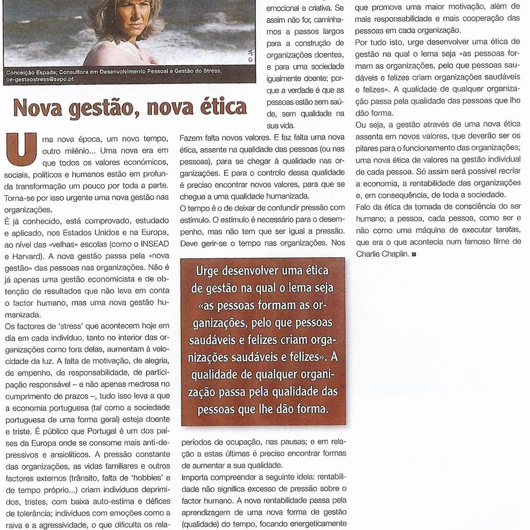 Magazine Pessoal - Nova Gestão, Nova Ética
