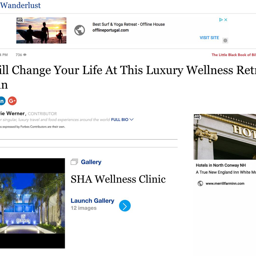 Forbes - Sha Wellness Clinic - Conceição Espada