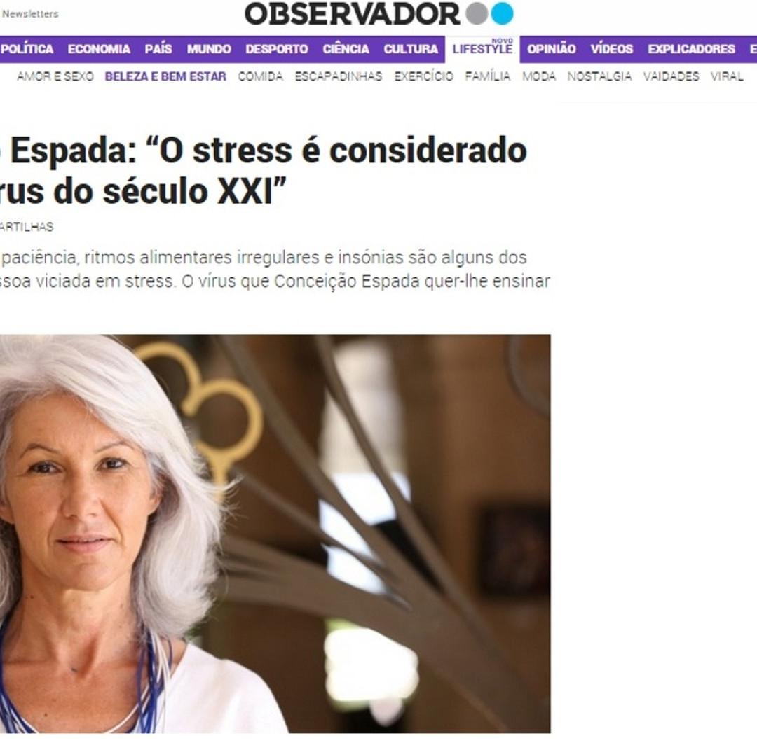 "Interview ""Observador"""