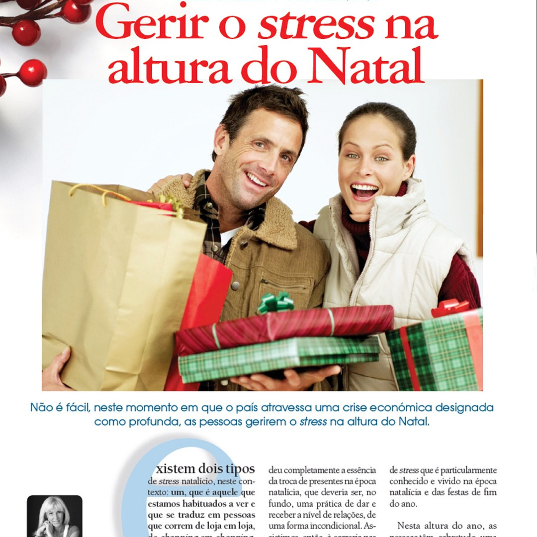 Gerir o Stress na Altura do Natal