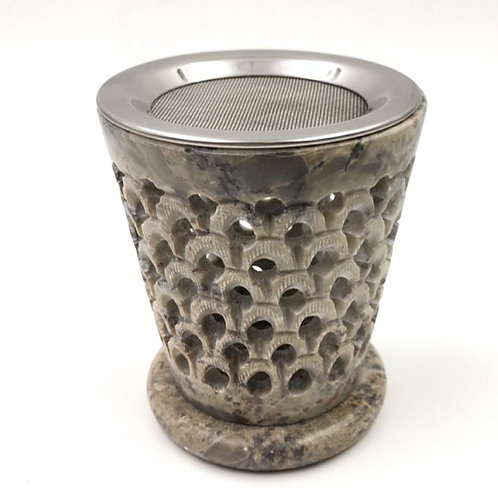 Räucherstövchen/Duftlampe Speckstein