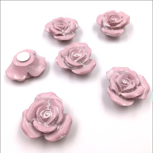 Rosen rosa zum Streuen und Basteln (mit Klebpunkt)