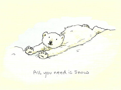 Karte - *All you need is Snow*