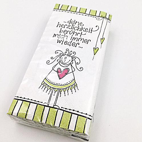 Taschentücher - Deine Herzlichkeit