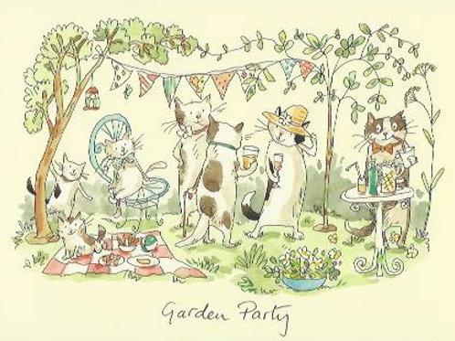 Karte - Garden Party