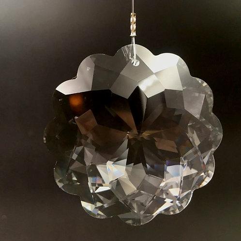 Kristall Lotusblüte 50 mm
