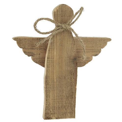Engel aus Holz 20cm