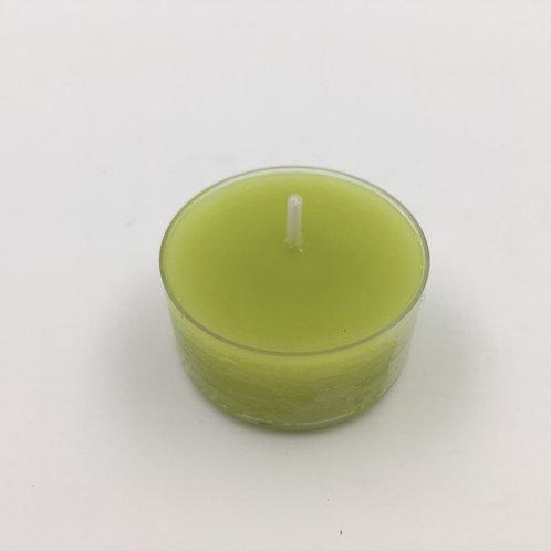 Teelicht grün 4h