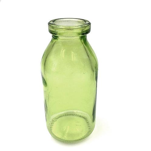 Vase / Flasche grün mittel (H10,5)