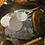 Thumbnail: Girlande mit Kugeln (25m Spule) in weiss/silber/gold