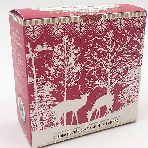 Seife Hirsche im Schnee