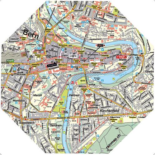 Stadtschirm rainmap® - Bern