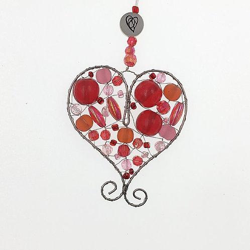 Herz S rot