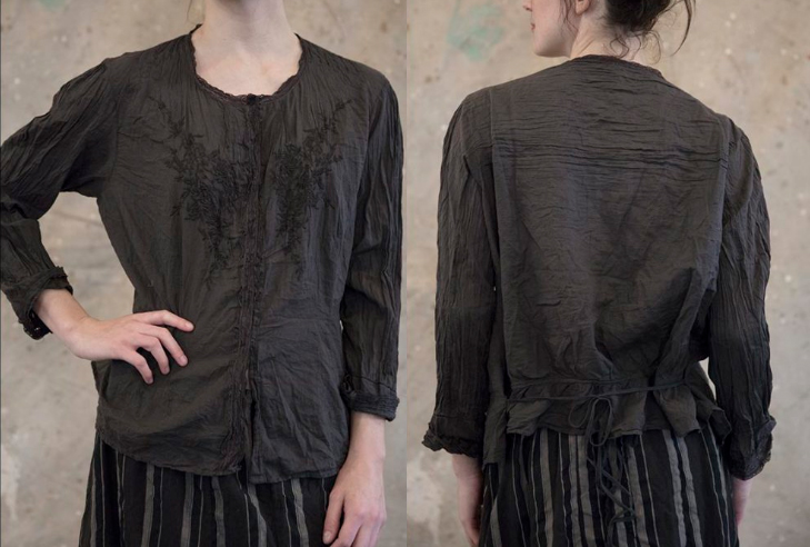 Freja Blouse (Midnight)