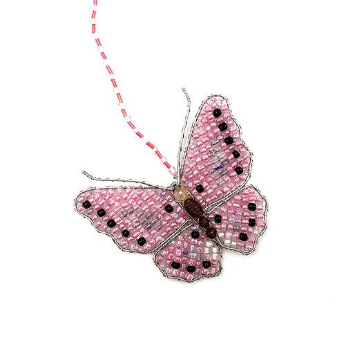 Schmetterling rosa