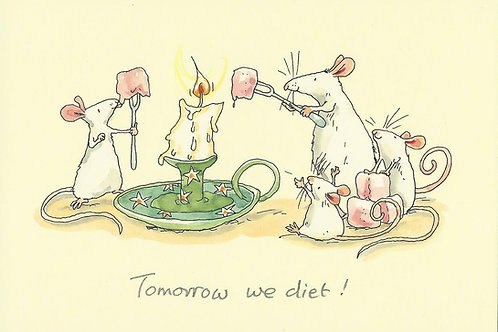 Karte - *Tomorrow we diet!*