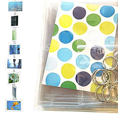 Foto-/Postkarten-Mobile (8 Taschen) hoch/quer