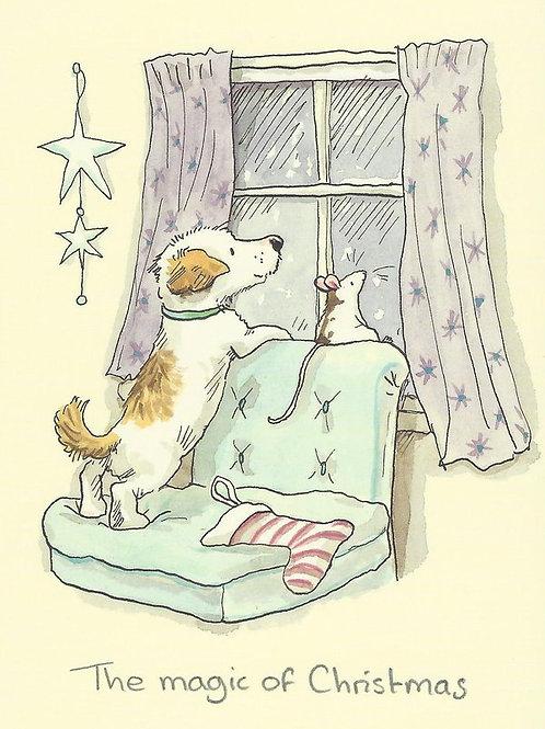 Karte - *The magic of Christmas*