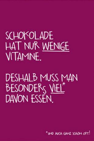 Postkarte Vitamine