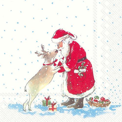 Lunch-Servietten : Santa's best friend