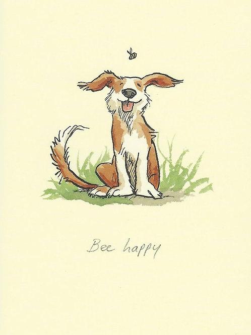 Karte - Bee happy