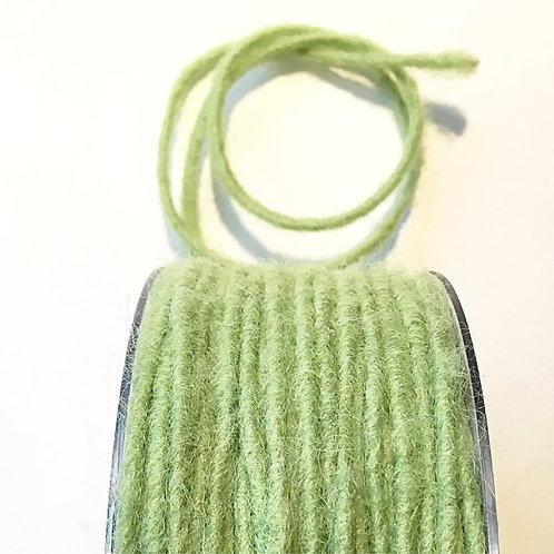 Wollfilz-Schnur grün D 2,5 mm