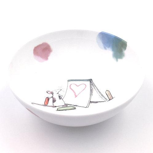 Porzellanschale Art of Love