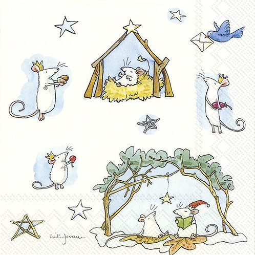 Lunch-Servietten : Mouse Crib (Anita Jeram)