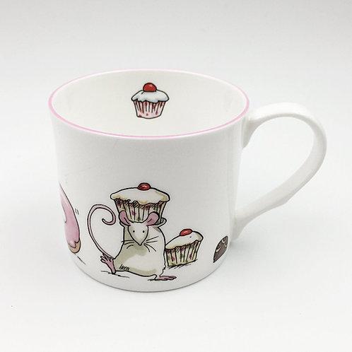 Porzellantasse 300ml Sugar Mice Cup Cakes