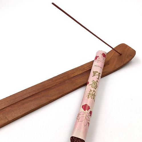 Japanische Räucherstäbchen NOBARA Wilde Rose
