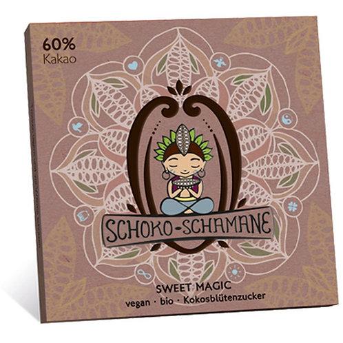 Schoko-Schamane 50g VEGAN - Kakao (60% Kakao)