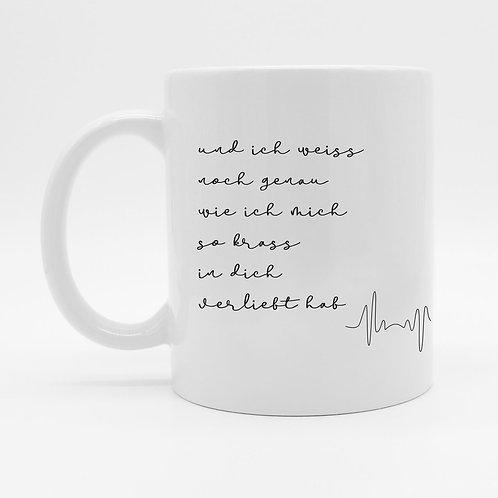 Tasse - Verliebt