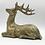 Thumbnail: Hirsch liegend gold 19cm
