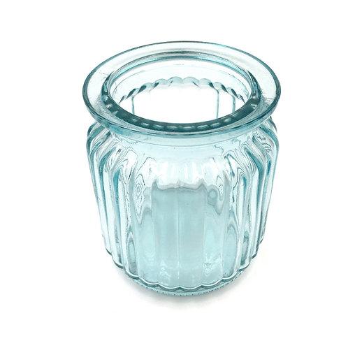 Vase Glas aqua (H8,5)