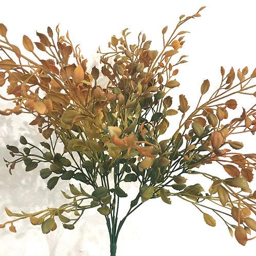 Herbstzweig grün orange (35 cm)