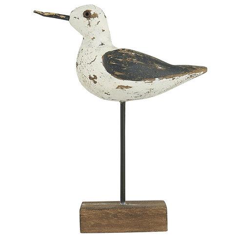 Strandvogel / Möwe Holz (H: 13,5 cm)