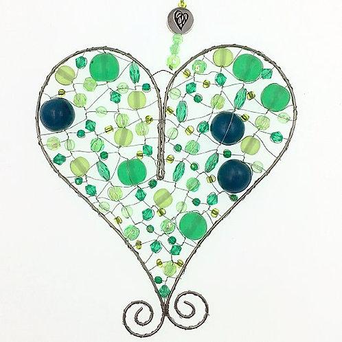 Herz L grün