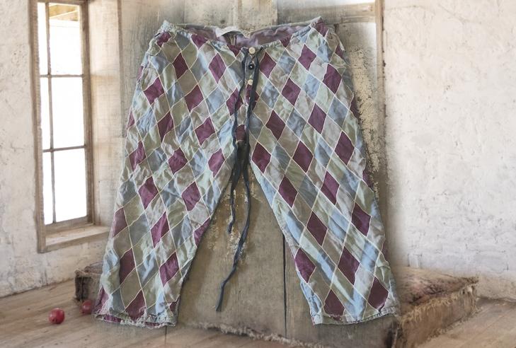 Pitre 3/4 Pants (Claret)