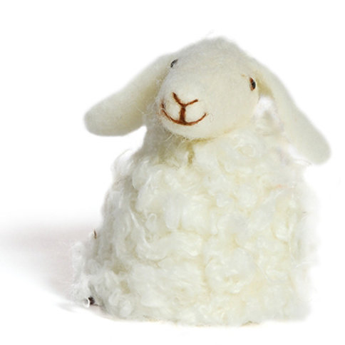 Eierwärmer gefilzt - Schaf