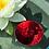 Thumbnail: Schwimmschale S rund silber-rot