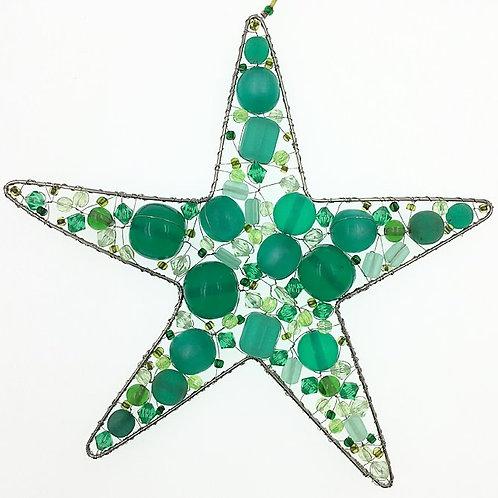 Stern L grün (dunkler)