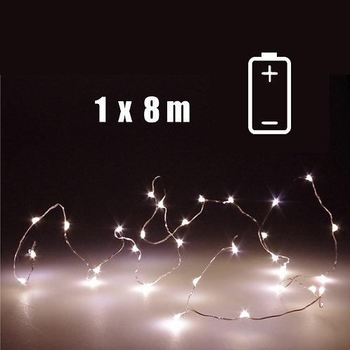LED-Lichtkette 8 m