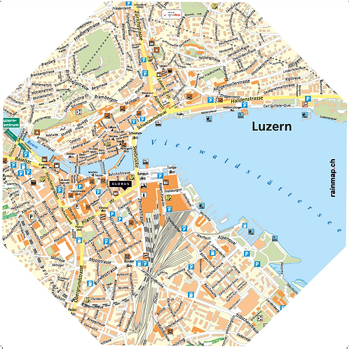 Stadtschirm rainmap® - Luzern